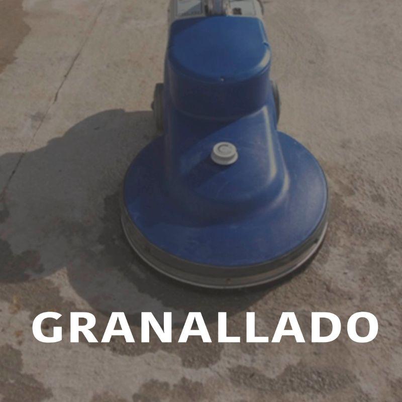 Granallado de suelos