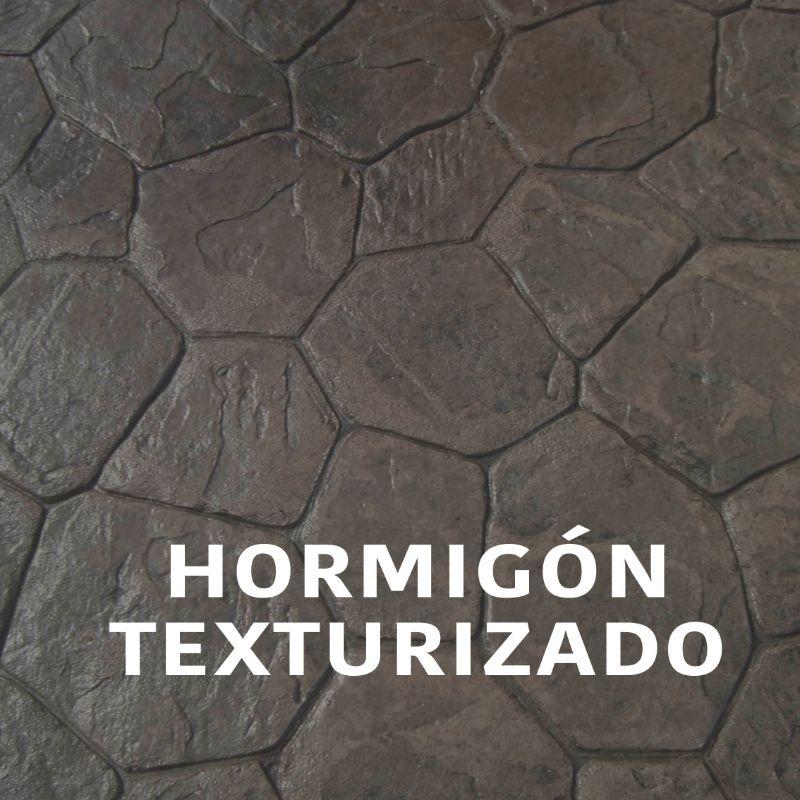 Hormigón texturizado