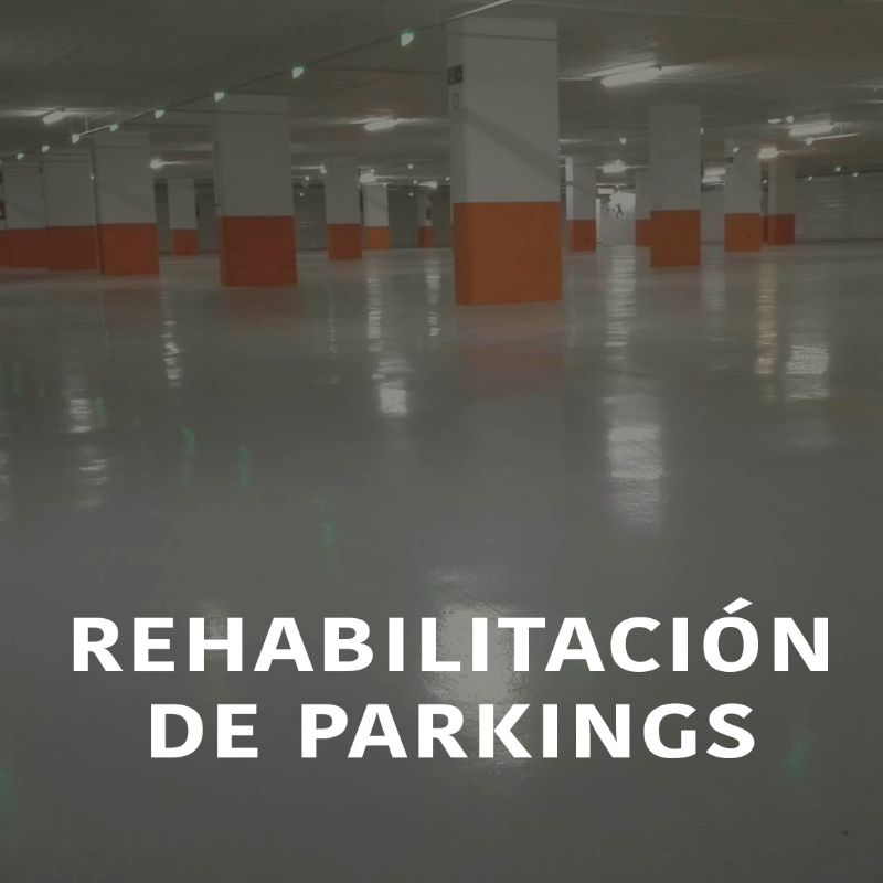 Rehabilitación de Párkings