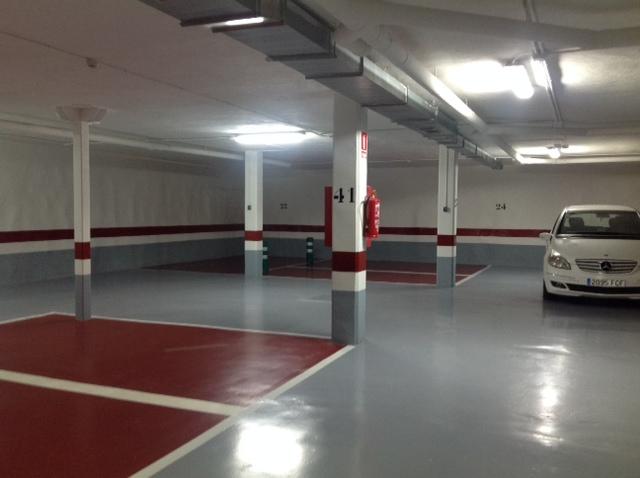 Parking nuevo pavimento