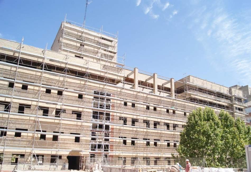 Limpieza de fachada en Madrid