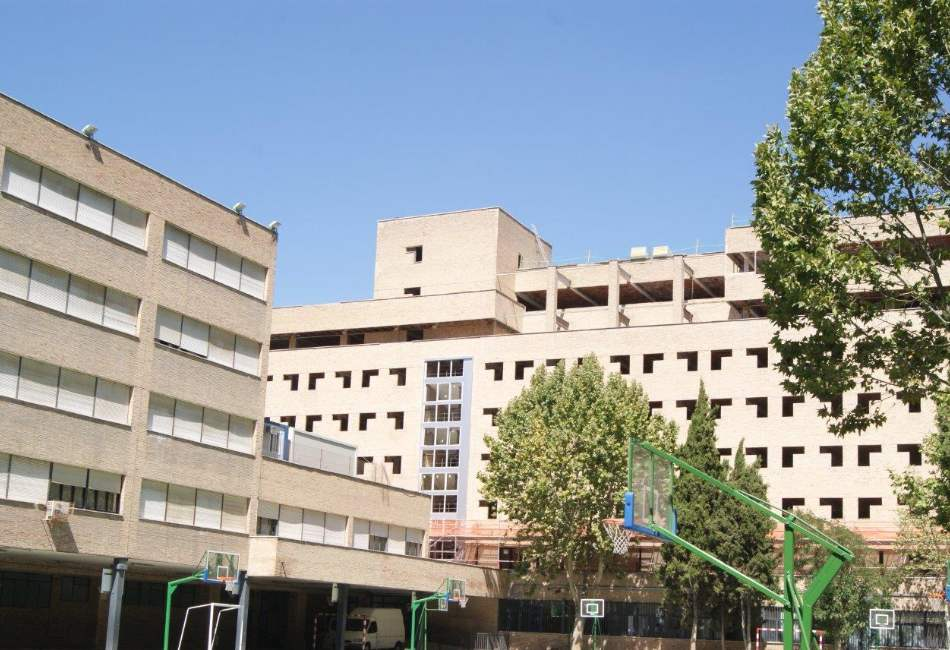 Fachada en Residencia de Madrid