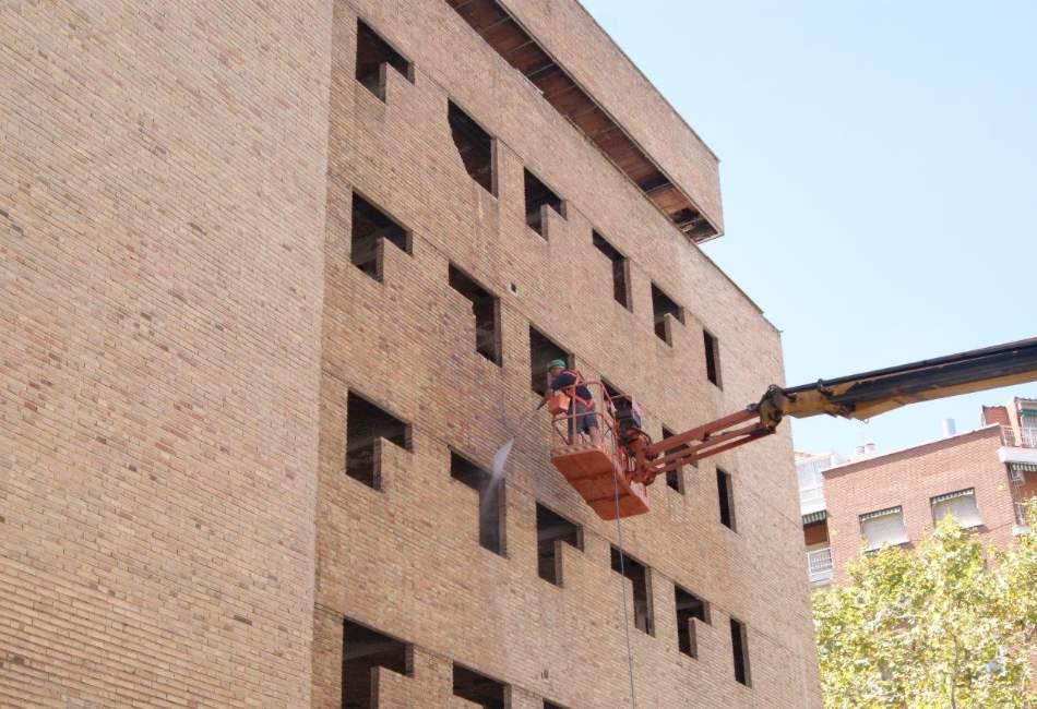 Limpieza de fachadas y monumentos