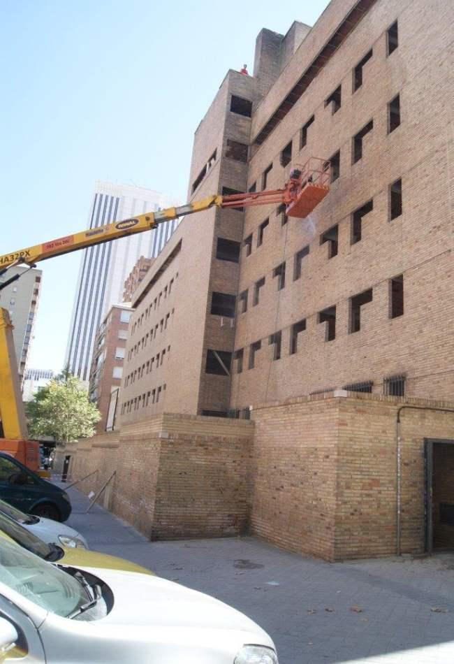 Limpieza de fachadas en Madrid